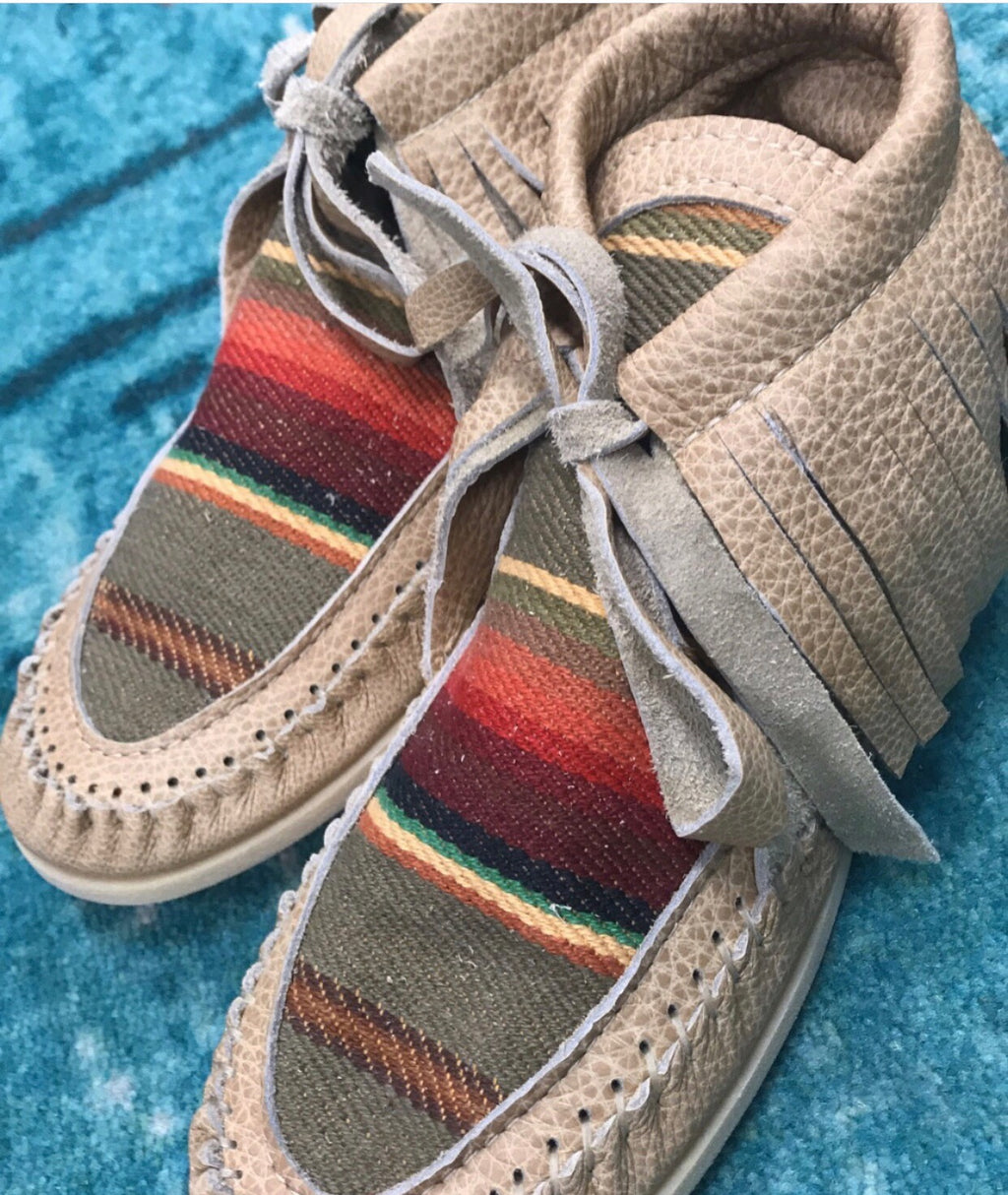 Lorec Ranch Earth Tone Moccosins