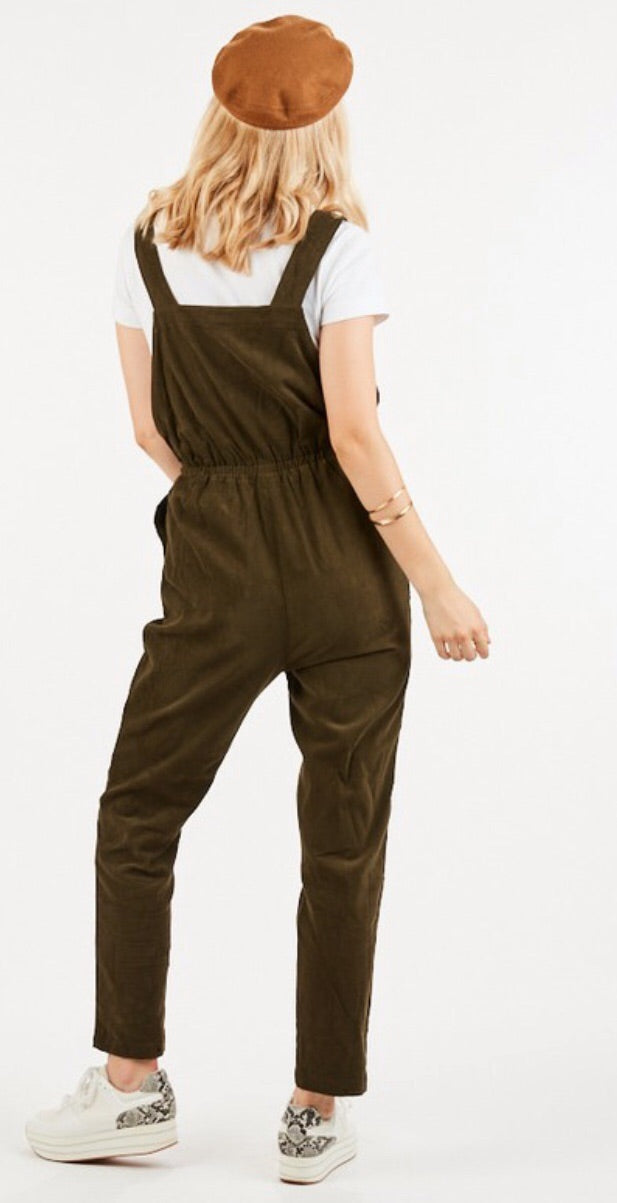 Jumping into Fall Overalls