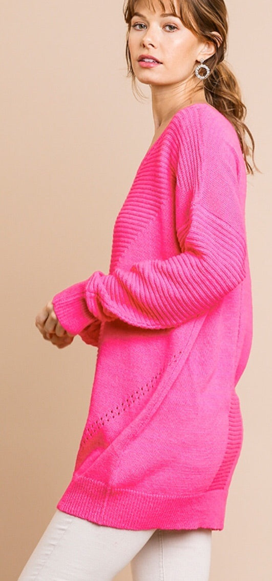 Pink Princess Sweater