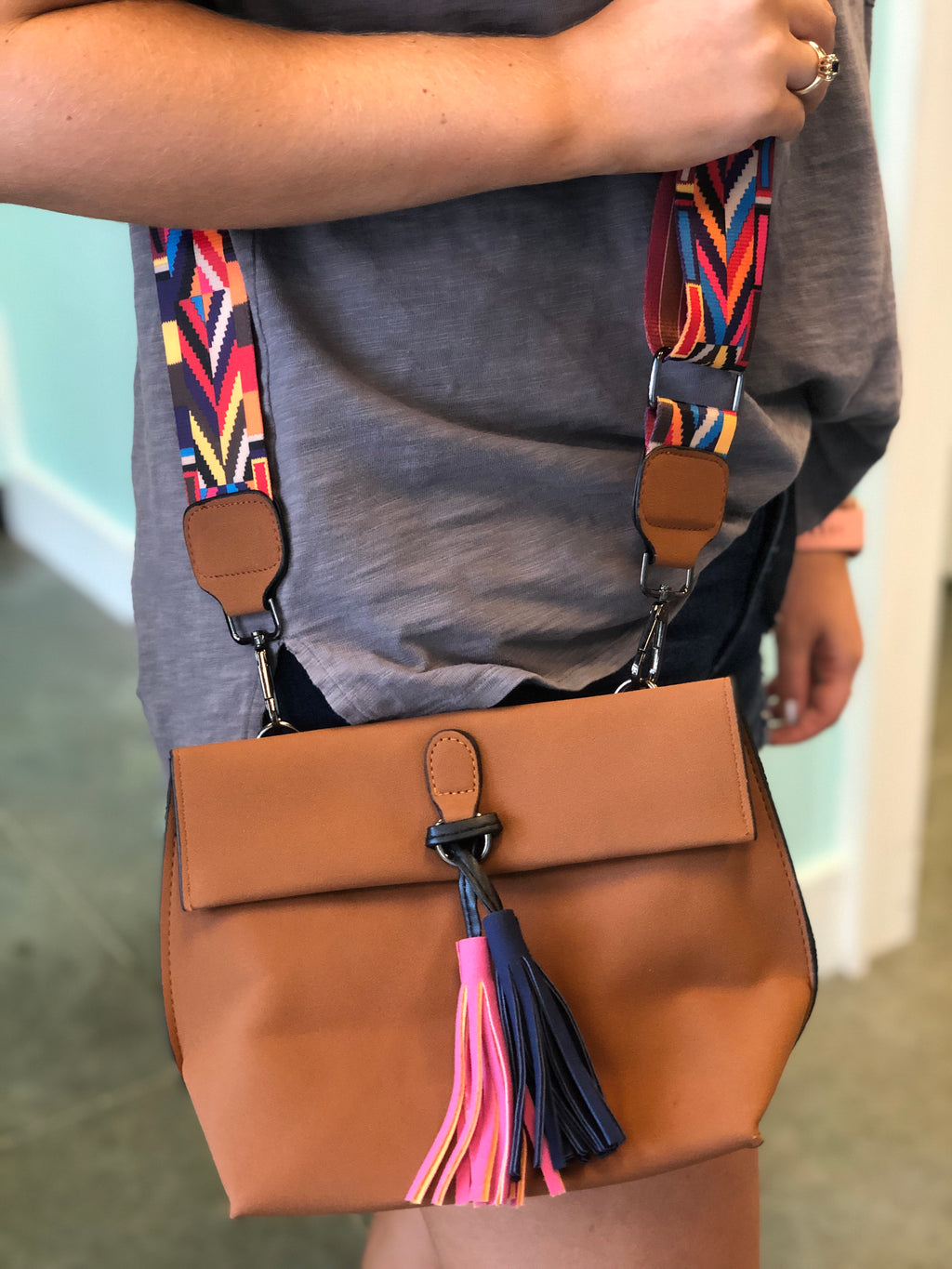 Boho Purse with Tassels