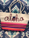 Aloha Beach Bag with tassle