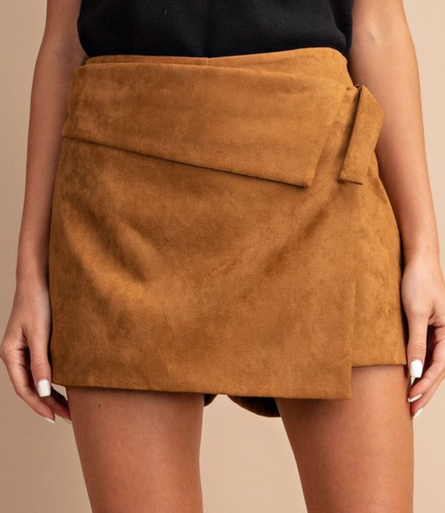 Jealous Too Skort in Tan
