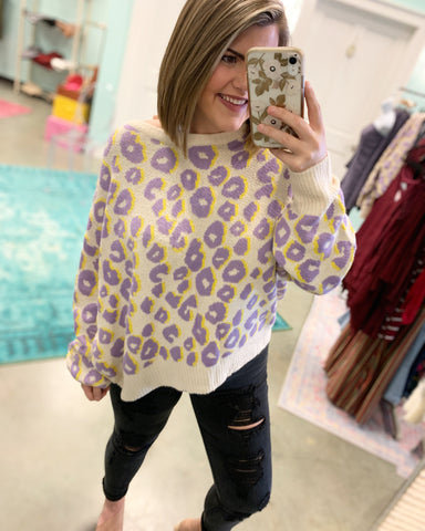 Cheetah Love  Sweater