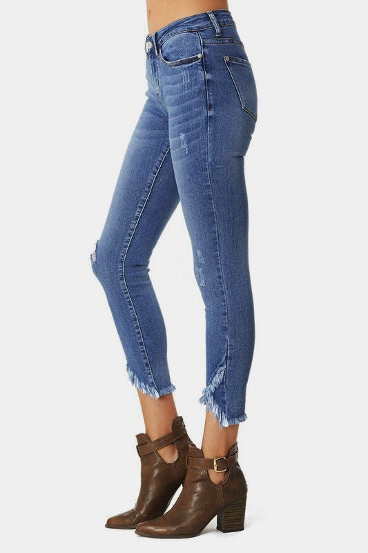 Judy Blue Jeans Double Cut