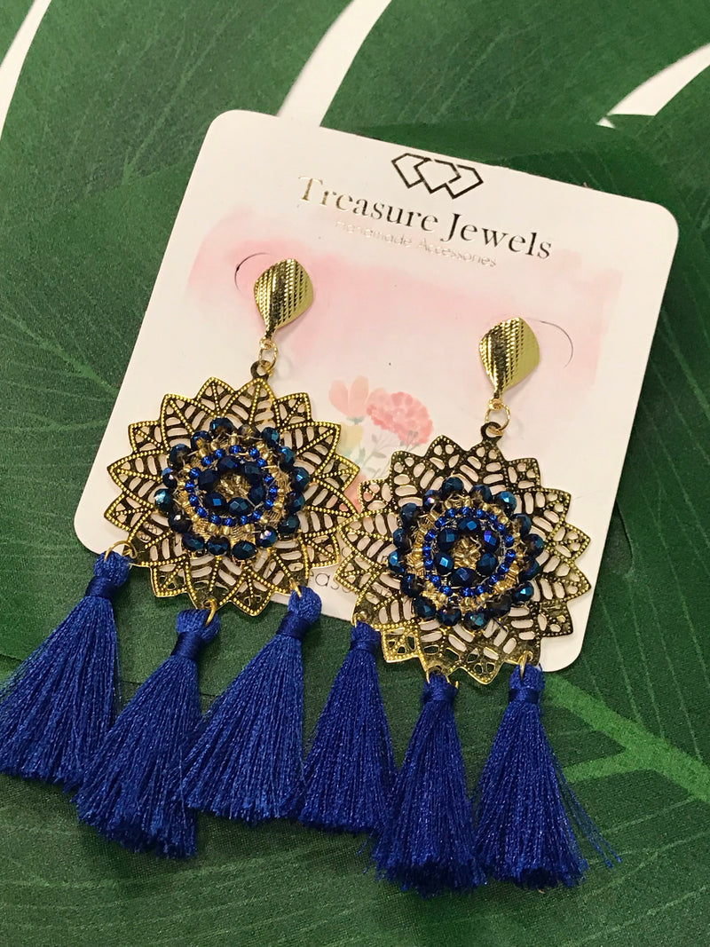 Royal Manda Earrings