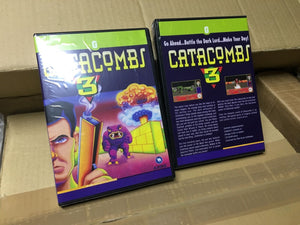 Catacomb3D for AmigaCD32 and indieGO retro console