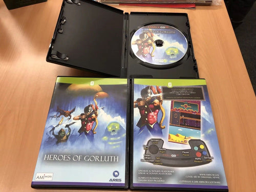 Heroes of Gorluth for AmigaCD32 and indieGO! Retro Console