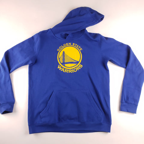 NBA Youth Golden State Warriors Blue Hoodie Youth sz XL
