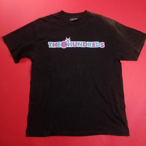 Y2K The Hundreds Spellout T-Shirt Mens sz L