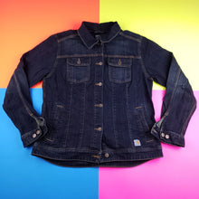 Load image into Gallery viewer, Carhartt Womens Denim Jacket Size Large