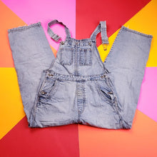 Load image into Gallery viewer, Vintage y2k GAP Blue jeans Light wash Overalls Mens Size  Small