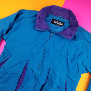 Vintage Pacific Trail Windbreaker Jacket Mens Small