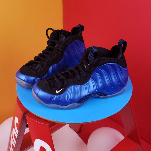 Nike Air Foamposite One XX 'Royal' 20th Anniversary sneaker US Size 7.5