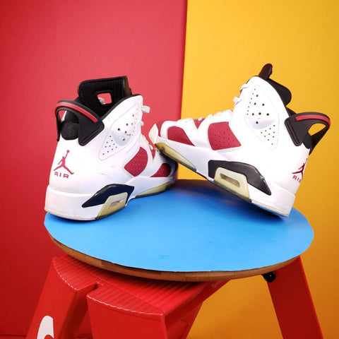 Air Jordan 6 Retro 'Carmine' 2014 Sneakers US 10