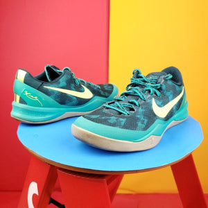 Rare Nike Kobe 8 System+ SP 'Green Camo' 2012 Sneakers US 8