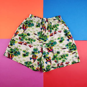 Vintage 90s South Breeze floral nature shorts Mens | L