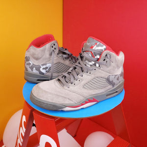 Air Jordan 5 Retro 'Camo' 2017 Sneakers US 11.5