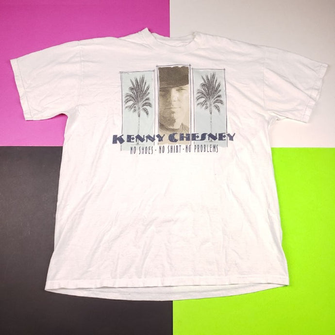 Vintage 90s Kenny Chesney Double Sided T shirt Mens | L