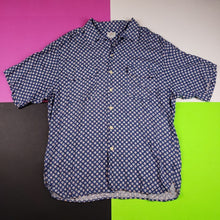 Load image into Gallery viewer, Vintage 80s George Marciano Guess polka dot button up t shirt Mens | XL
