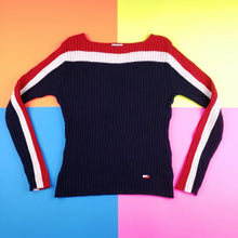 Load image into Gallery viewer, Vintage y2k Striped Womens Top Size Medium