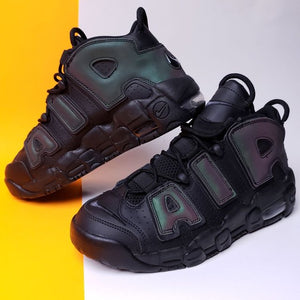 Nike Air More Uptempo GS 'Reflective' 2017 Sneaker Size 7y or Womens 8.5