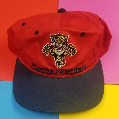 Vintage 90s Florida Panthers Snapback