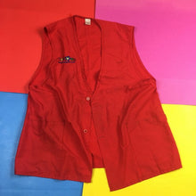 Load image into Gallery viewer, Vintage Toys R US Red Vest Mens | S
