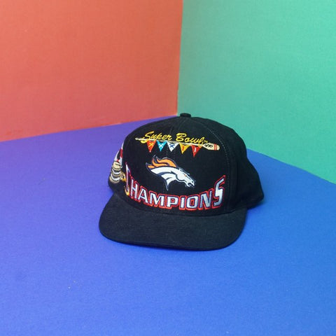 Vintage 1998 Superbowl NFL Broncos winners embroidered adjustable snapbacks