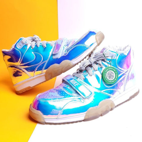 Nike Air Trainer 1 Mid PRM QS 'Nike Knows' Iridescent 2014 sneaker Size 10.5