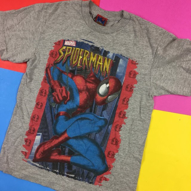 Vintage Marvel Spiderman tee Men's Small