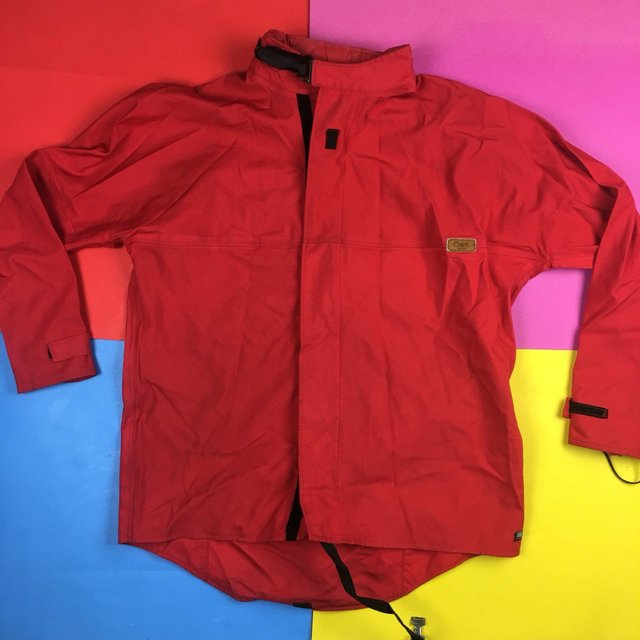 Vintage 90s Chapak Goretex Made in France zip up jacket Velcro Mens | L