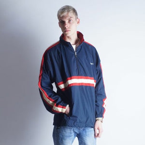 Vintage 90s Winners Colorblock track jacket Mens | XL