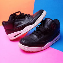 Load image into Gallery viewer, Air Jordan 3 Retro 'Cyber Monday' Sneakers US sz 12