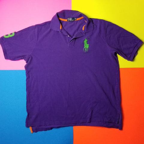 Vintage Polo Ralph Lauren Big Pony polo shirt mens 2XLT