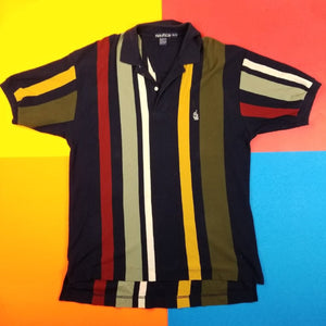 Vintage 90s Nautica Polo Mens | XL