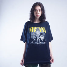 Load image into Gallery viewer, Y2K Nirvana band tee