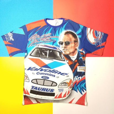 Vintage Mark Martin VALVOLINE Racing NASCAR T shirt Mens ??