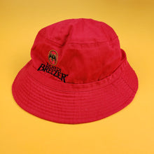 "Load image into Gallery viewer, Bacardi ""BREEZER"" Red Bucket Hat"