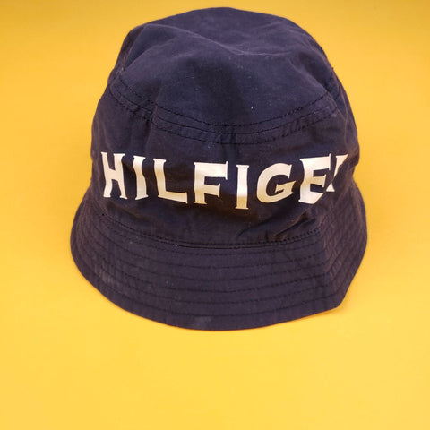 Reversible Tommy Hilfiger Navy Bucket Hat