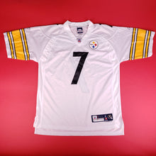 "Load image into Gallery viewer, Y2K Reebok NFL Steelers Jersey Roethlisberger ""Big Ben"" #7 Mens sz L"