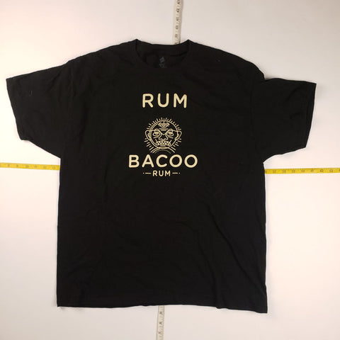 Y2K Rum Bacoo Black Graphic T-Shirt Mens sz XL