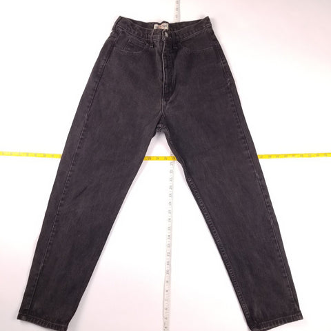 Vintage 90s Made in USA Guess Jeans USA Black Denim Pants Mens sz 30