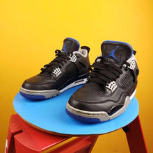 Load image into Gallery viewer, Air Jordan 4 Retro 'MotorSport Alternate' Sneakers Mens 8.5