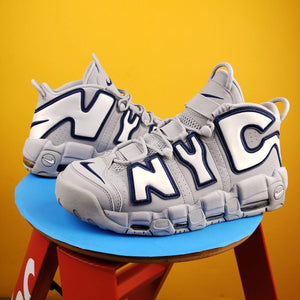 Nike Air More Uptempo QS 'More NYC' Sneakers Mens 11