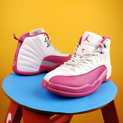 Air Jordan 12 Retro GG 'Vivid Pink' sneakers Mens 8