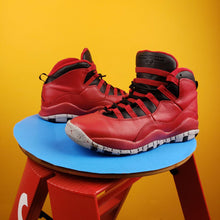 Load image into Gallery viewer, Air Jordan 10 Retro 'Bulls Over Broadway' sneakers Mens 7y