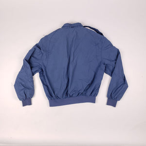 Vintage Members Only Zip Up Jacket Air Force Blue Mens sz 42