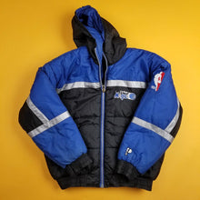Load image into Gallery viewer, Vintage Reversible Puffer Orlando Magic Pro Player NBA Mens sz S