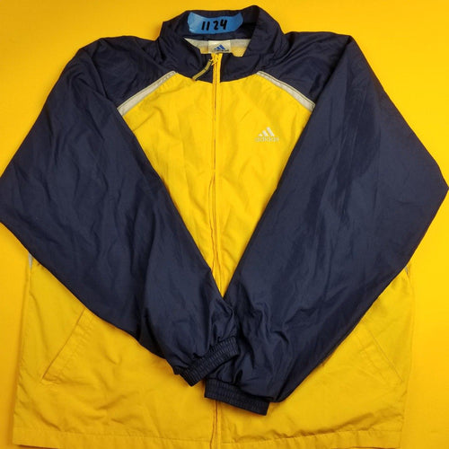 VIntage Adidas Color Block WIndbreaker Mens XL