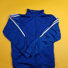 Load image into Gallery viewer, Y2K Adidas Blue Track Jacket Mens sz L